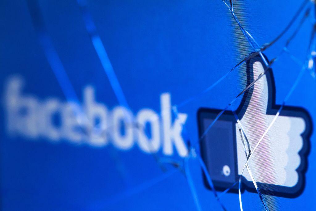 據2月17日消息公佈,Facebook因觸犯個資條例而被意大利監管機構罰款700萬歐羅。(JOEL SAGET/AFP via Getty Images)