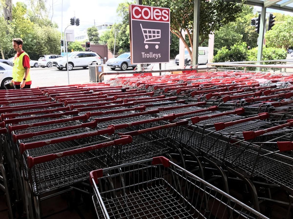 澳洲今天(2月19日)公佈1月零售銷售按月反彈0.6%,新南威爾士州領漲。(黃家傳/大紀元)