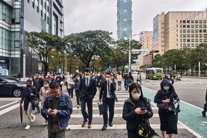 台灣去年GDP上修至年增3.11% 高於大陸