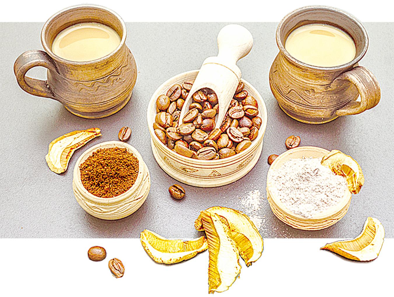 蘑菇咖啡是咖啡愛好者的新寵。