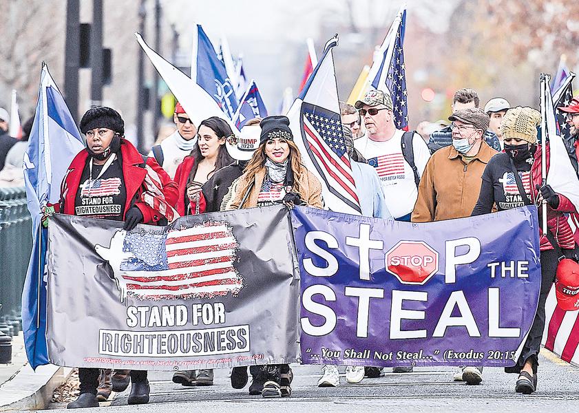 竊選者的炫耀: 非常成功的「統一戰線」