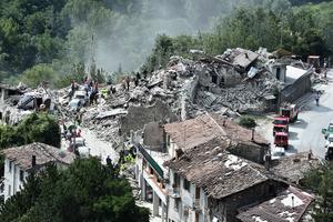 餘震不斷救援困難 意大利周五進入緊急狀態