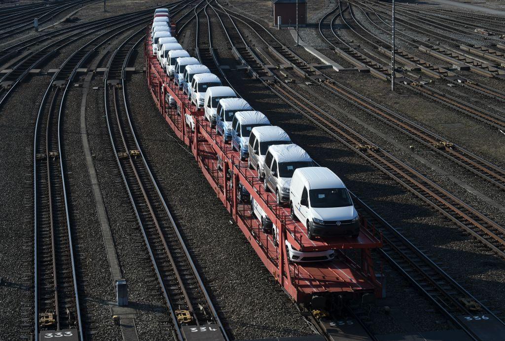 德國昨(2月22日)公佈商務景氣指數,由1月份90.3上升至2月份92.4。(CHRISTOF STACHE/AFP via Getty Images)