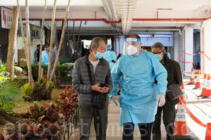 七十名沙田居民違強檢公告