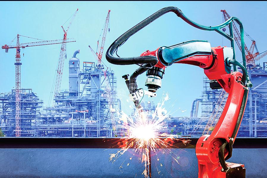 新發明建房機器人  動作快成本低