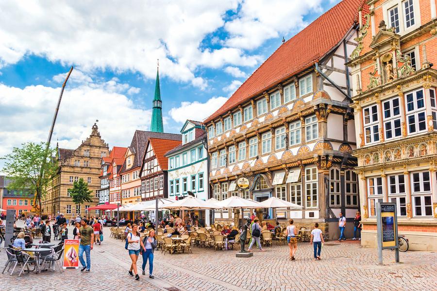 在德國童話小城跟著老鼠走