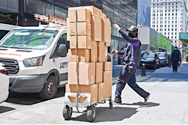 電子商務和樓市火熱 疫期間美藍領就業強勁增長