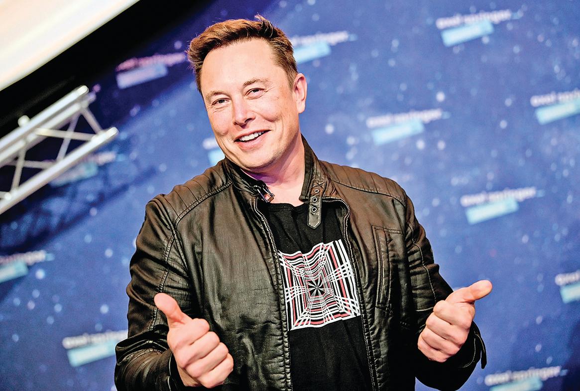 SpaceX的老闆馬斯克。(Britta Pedersen-Pool/Getty Images)