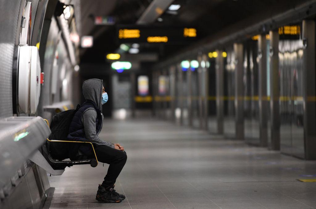 英國今(2月23日)公佈12月失業率為5.1%,接近5年高位。(DANIEL LEAL-OLIVAS/AFP via Getty Images)