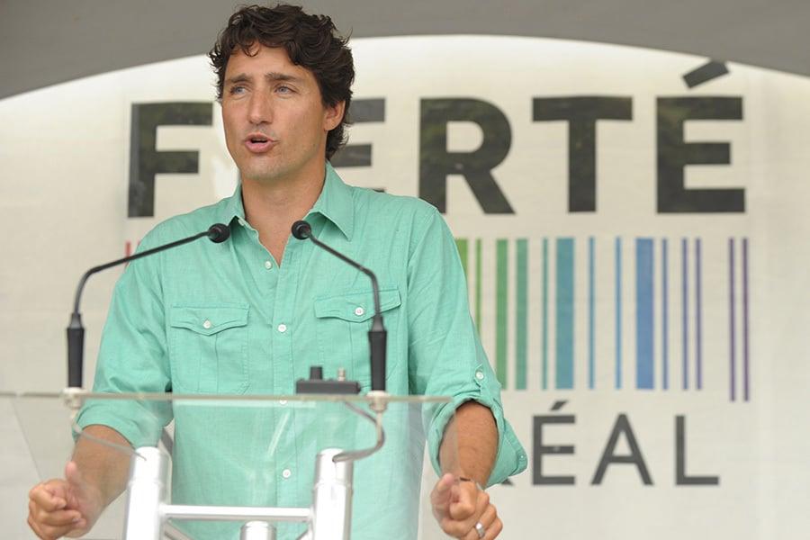 加拿大總理杜魯多將於8月30起展開訪華之行,預計將面臨考驗。(MARC BRAIBANT/AFP/Getty Images)