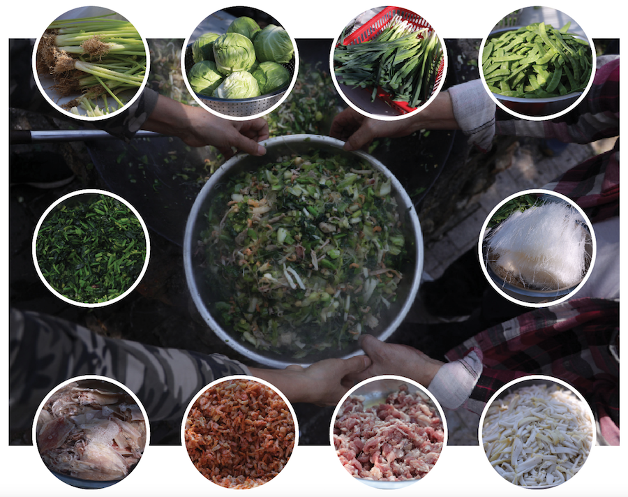 豐富的菜茶材料。(設計圖片)