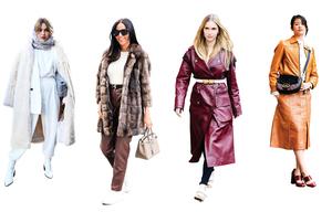 怎樣穿搭暖和又時尚?