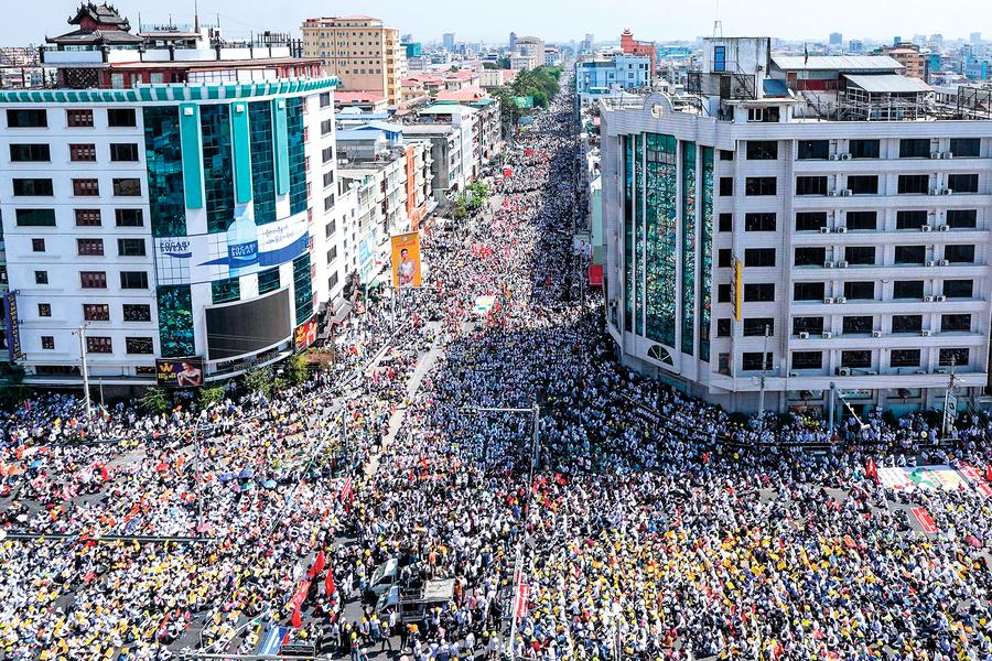 美台需慎防 緬甸政變是陷阱