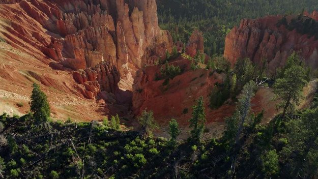 猶他州的布萊斯峽谷(Bryce Canyon)。(谷歌圖片)