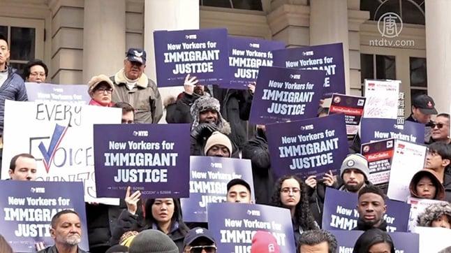 允許非公民投票選紐約市長 爭議下多立法者支持