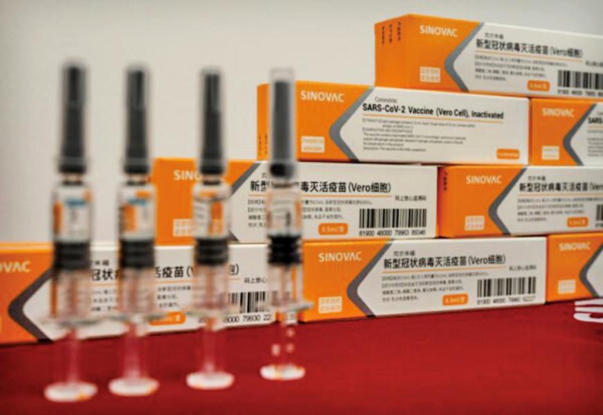 中共向五十三國送疫苗