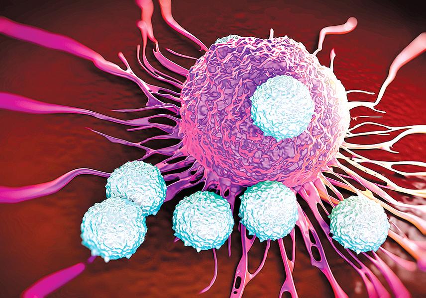 新型納米藥物 激活自身免疫蛋白抗癌