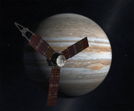 朱諾正向木星更近距離飛去。(NASA)