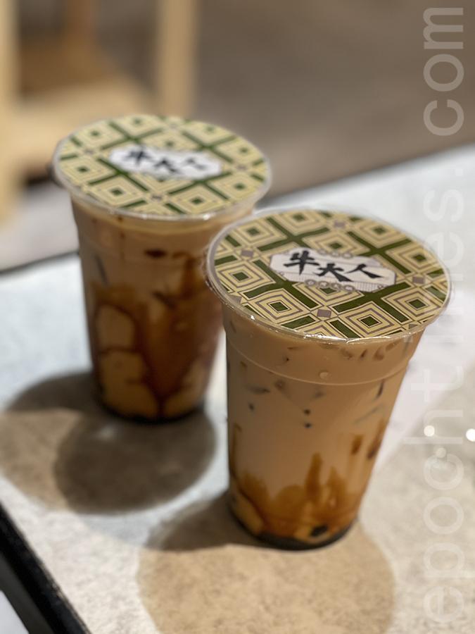 黑糖珍珠奶茶。(Siu Shan提供)
