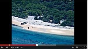 兩水手被困無人荒島 沙灘拼寫「SOS」獲救