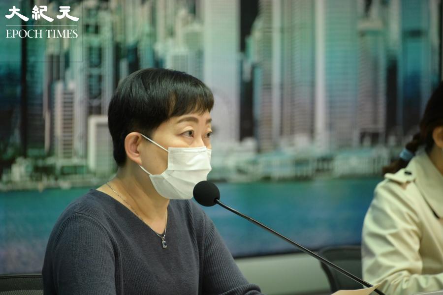 衞生防護中心傳染病處主任張竹君表示,27日新增33宗確診,防護中心會向所有K11 Musea工作人員發出強制檢測令。(郭威利/大紀元)