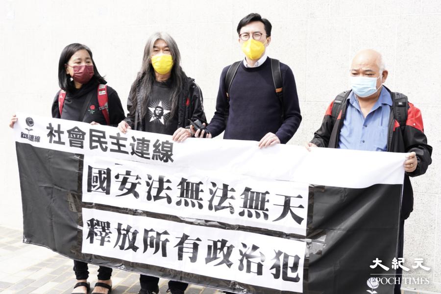 【初選搜捕】牛頭角警署報到 長毛:選舉是公民權利 不應被檢控