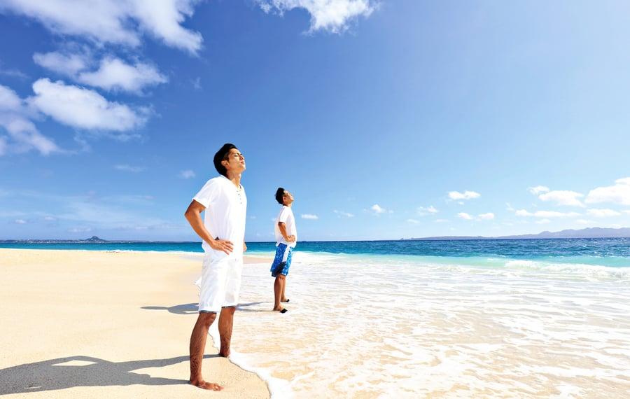 不要小看江河湖海 藍色空間超療癒