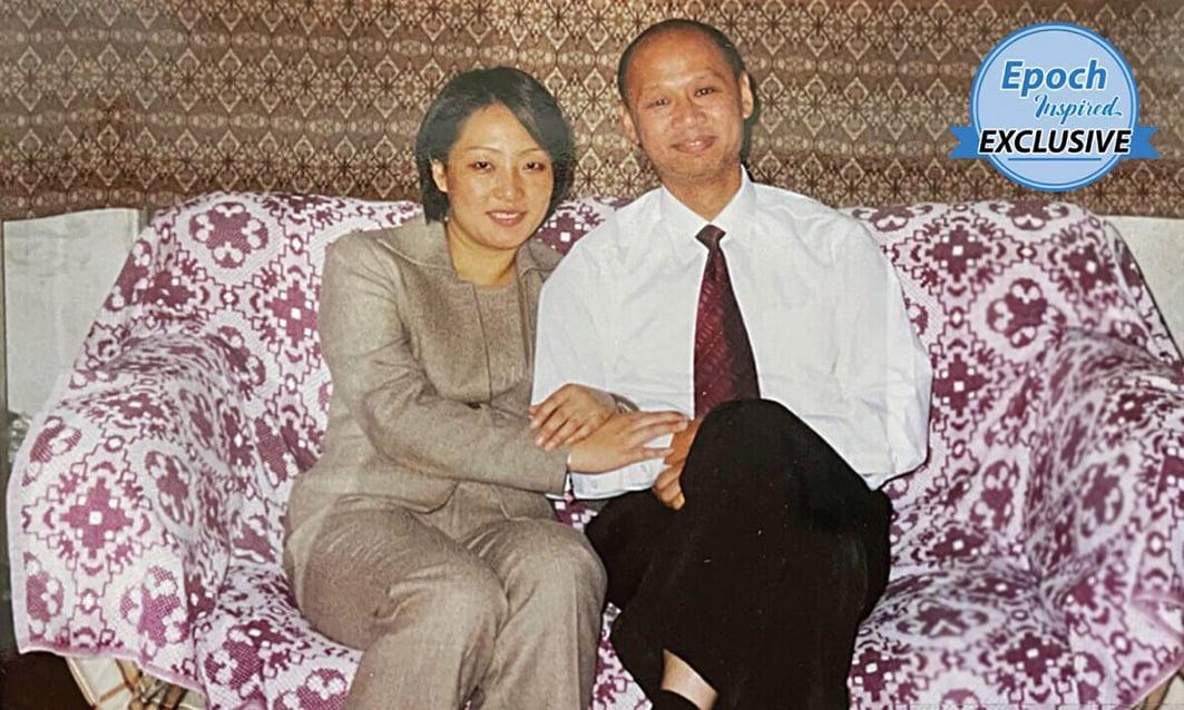 李迎和丈夫李麒忠,20年前,李迎因拒絕放棄對法輪功的信仰,遭中共迫害。 2003年11 月,李麒忠將未婚妻營救到澳洲。( 李迎夫婦提供)