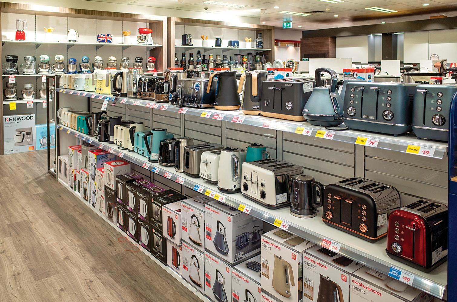 各式家電用品看了令人心動,但購買前應該多加思考!(shutterstock)