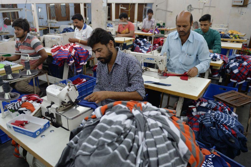 IHS Markit今(3月1日)公佈印度PMI於2月份錄得57.5,符合預期。(MONEY SHARMA/AFP via Getty Images)