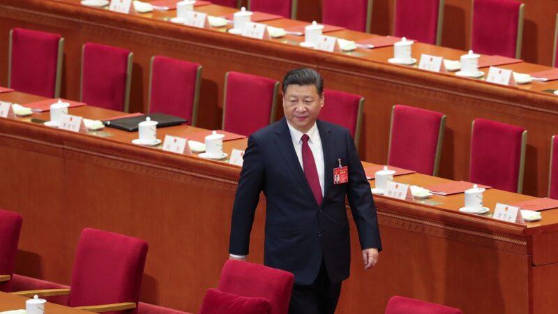 有學者認為,二十大是習的生死戰,要麼連任,要麼遭遇滑鐵盧。( Lintao Zhang/Getty Images)