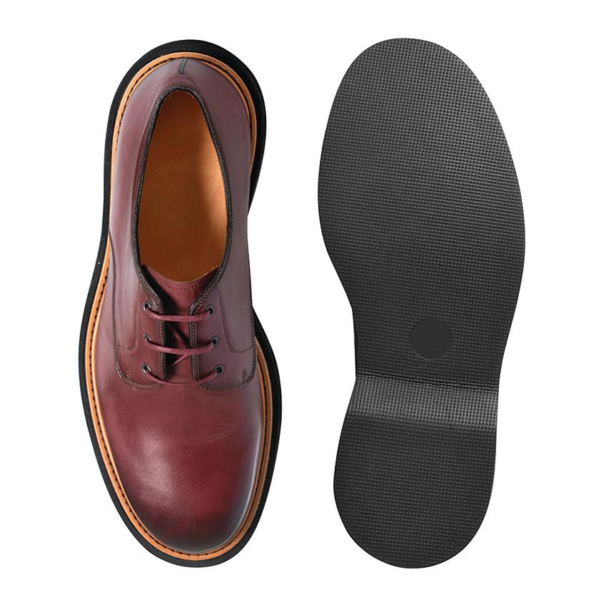 皮鞋加上橡膠鞋底可以減少磨損,延長使用時間。
