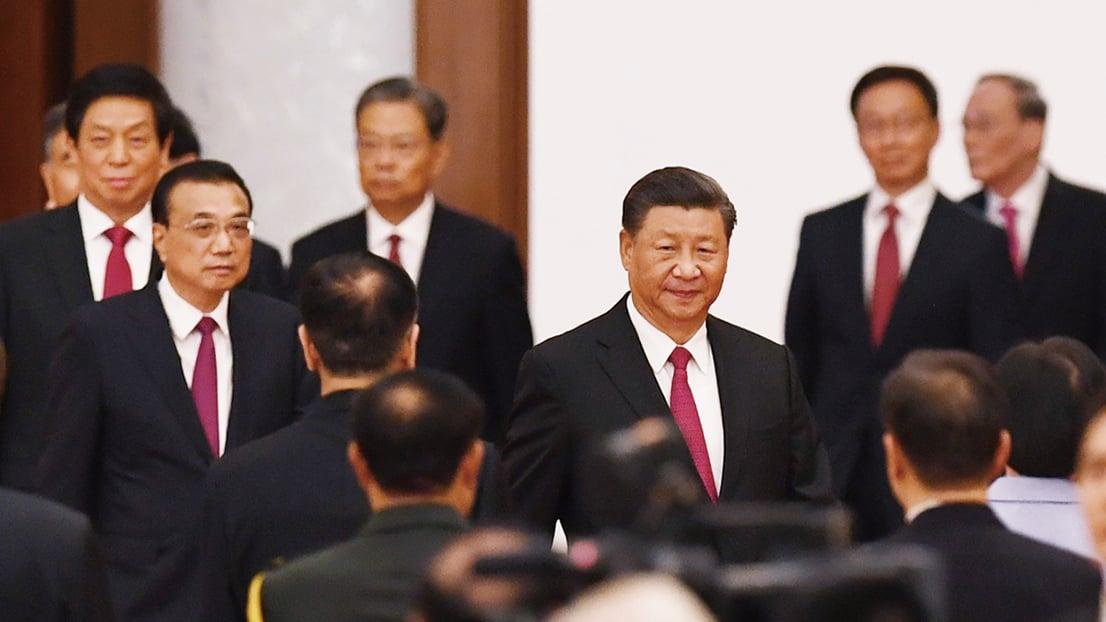 兩會召開前的敏感時期,中共最高層官員集體向中央和習近平述職。(GREG BAKER/AFP via Getty Images)