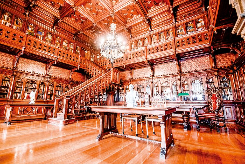 尼古拉二世(Nicholas II)的哥德圖書館。(Mitzo/Shutterstock.com)