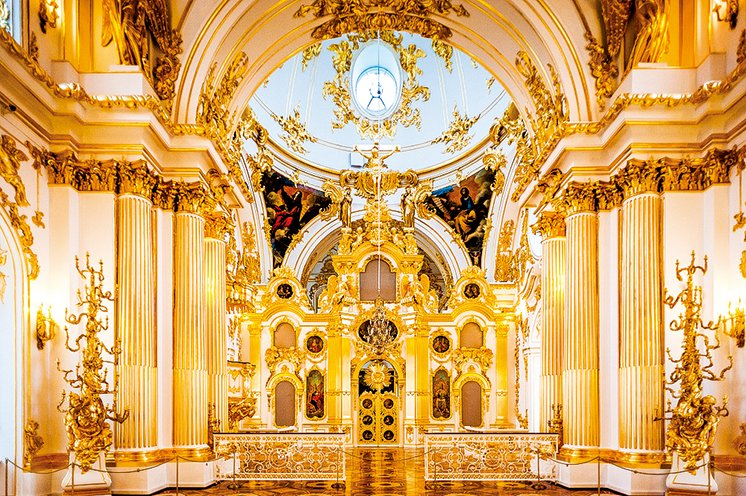 冬宮的大教堂(Grand Church)。(Anton_Ivanov/Shutterstock.com)