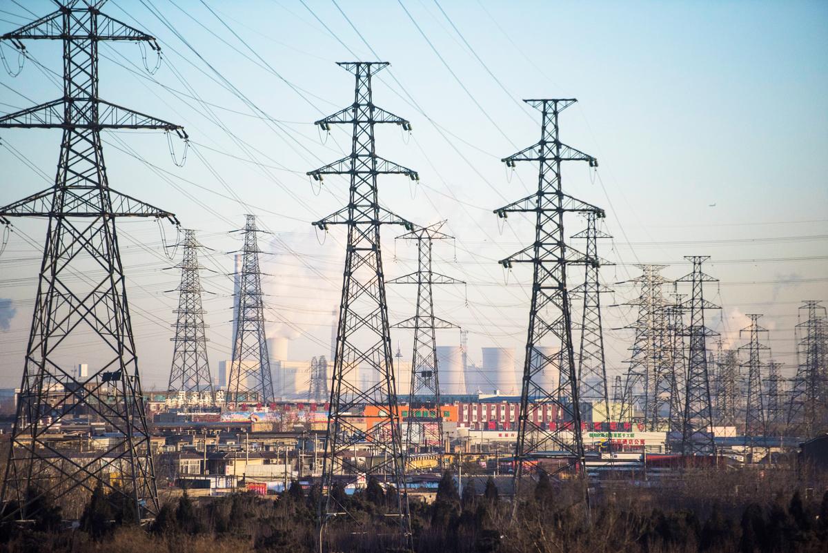 2020年末至2021年初中國部份地區「拉閘限電」的背後,隱藏著「全民監控」的內幕。(FRED DUFOUR/AFP)
