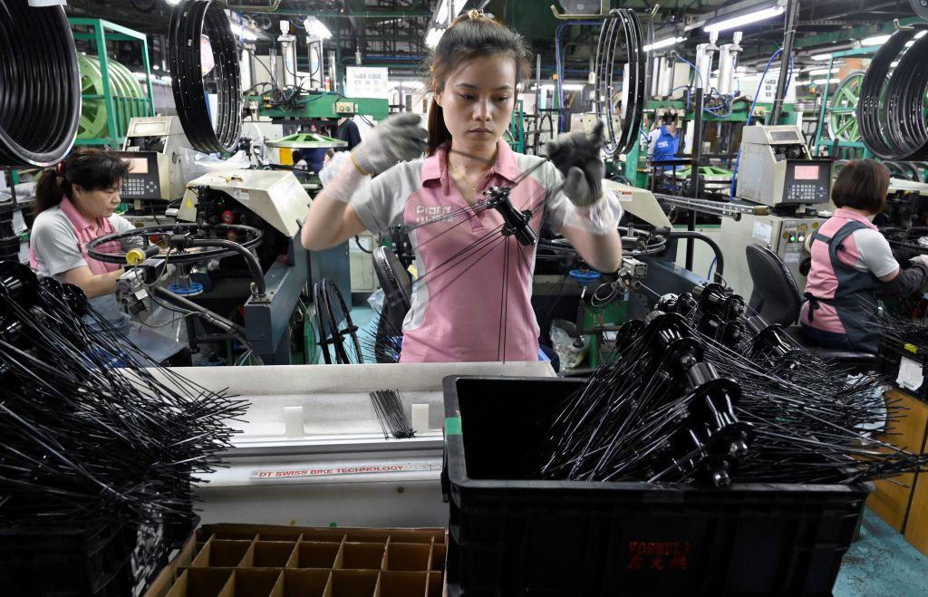 IHS Markit今(3月2日)公佈台灣PMI於2月份錄得60.4,經濟活動正快速擴張。(SAM YEH/AFP via Getty Images)