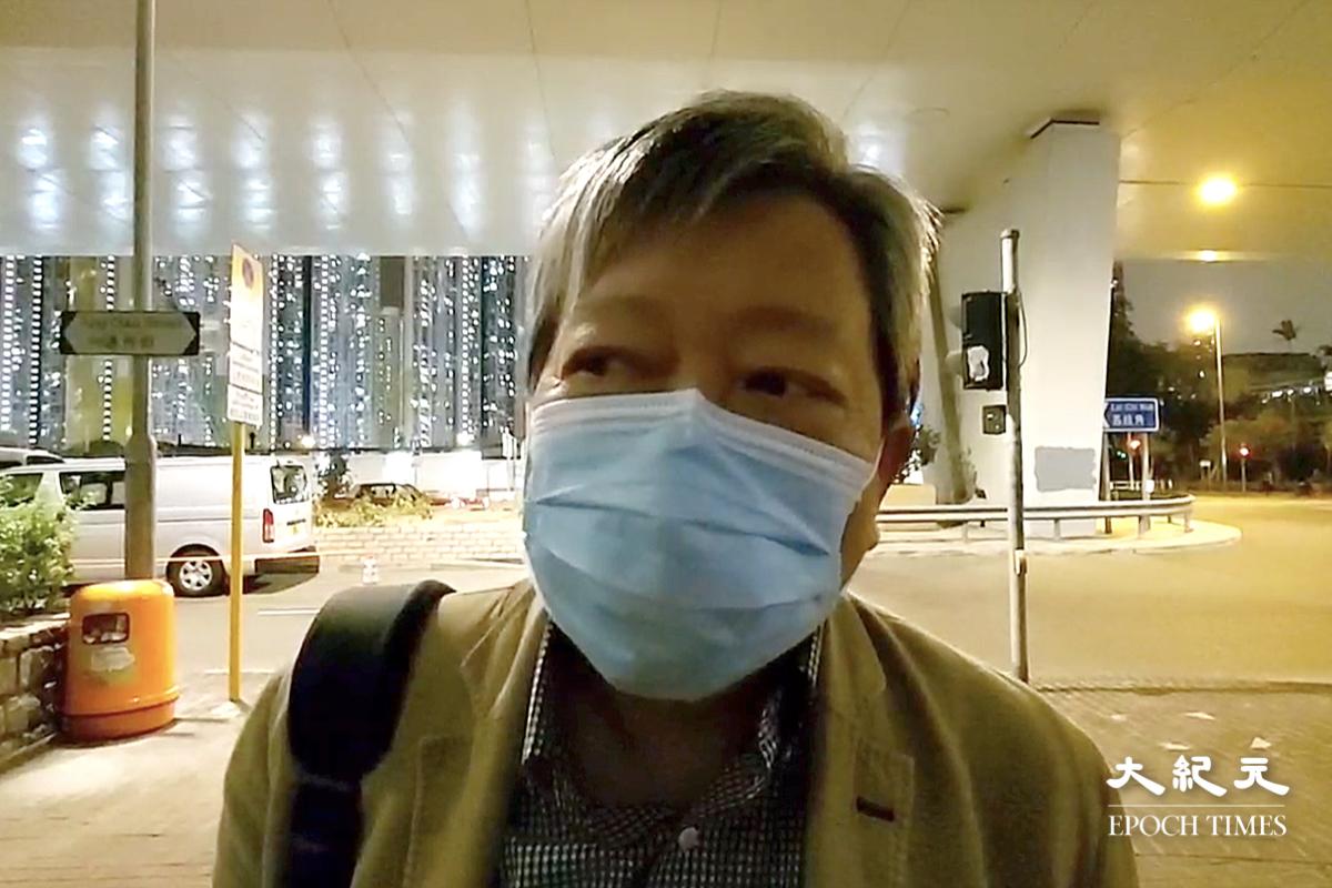 李卓人連續聽審第二日步出法院接受本報訪問,他表示「越聽越嬲和心酸」。(影片截圖)