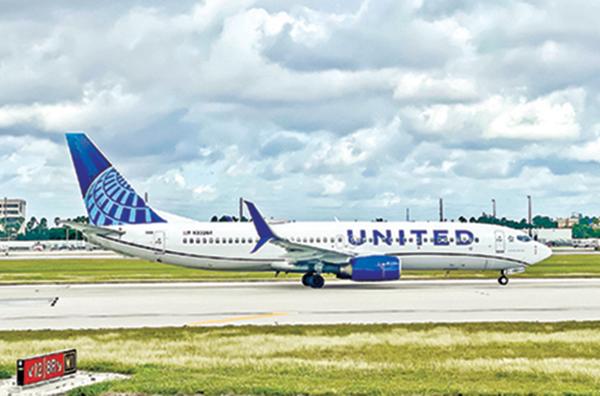 預期航空旅行需求恢復 聯航訂購25架波音737 Max