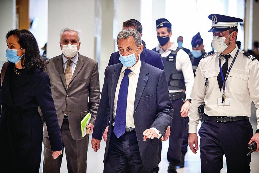 法國前總統薩爾科齊涉貪獲刑