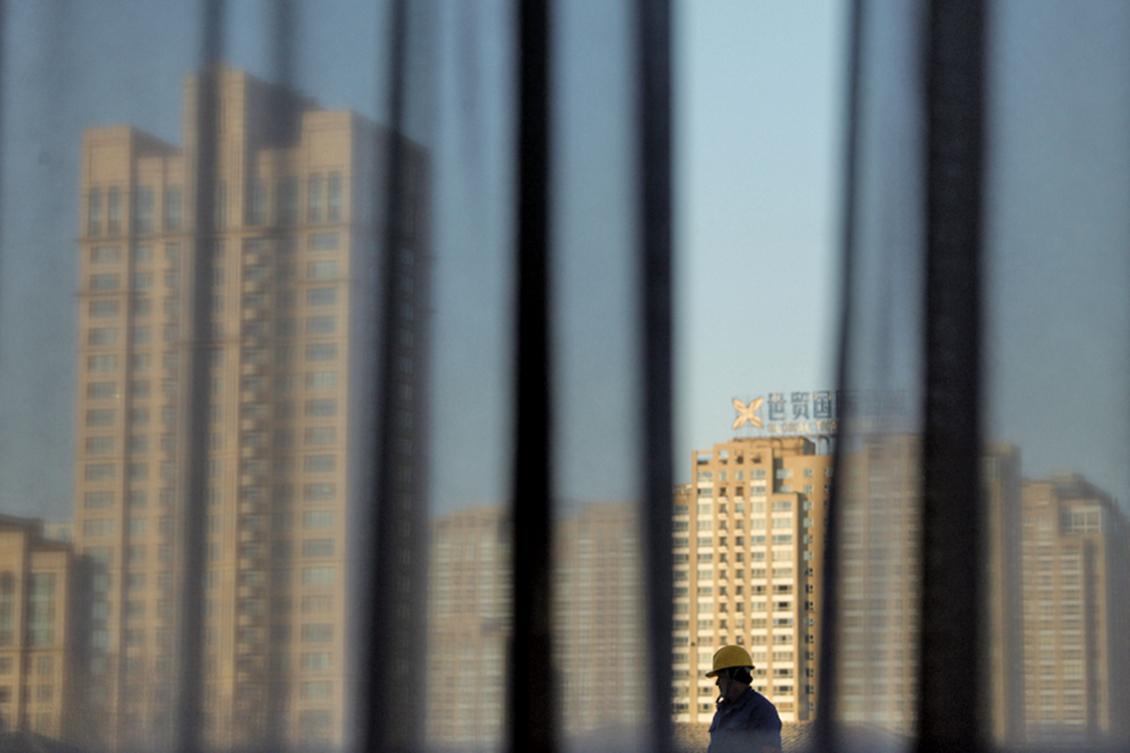 中共銀保監會主席郭樹清2021年3月2日提及大陸房地產泡沫化和按揭風險。(PEd Jones/AFP/Getty Images)