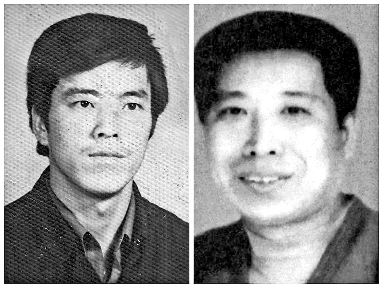 遼寧凌鋼職工侯延雙(左)、韓立國(右)因為堅持修煉法輪功被迫害致死。(大紀元)