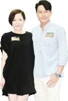 蕭正楠 田蕊妮 對《巨輪2》收視有信心