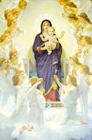 繪畫中最美的聖母子形像