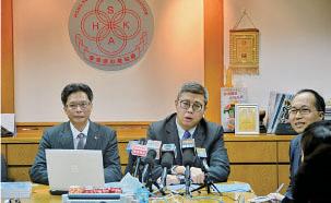 香港證券業協會主席繆英源認為香港要成為國際金融中心,不能靠單一產品,單一市場,希望港交所引入商品、債券、基金互聯互通產品。(宋碧龍/大紀元)