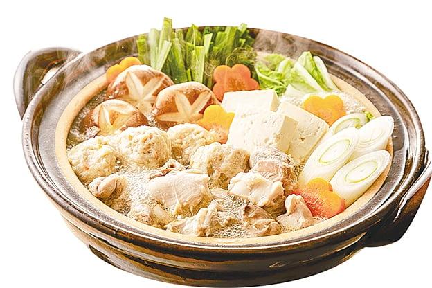 美味的蔬菜湯頭可以做成各種火鍋。