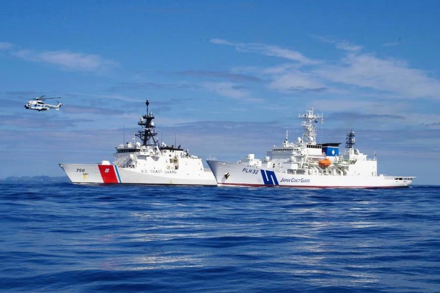 美日會談印太自由航行 日法英美將軍演