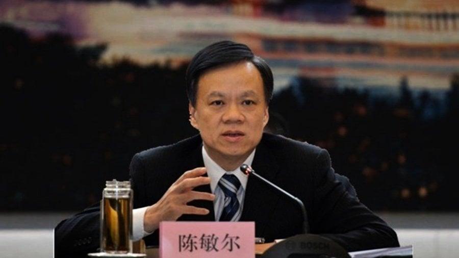 陳敏爾一周兩批鄧恢林 重慶公安局長「頂風作案」