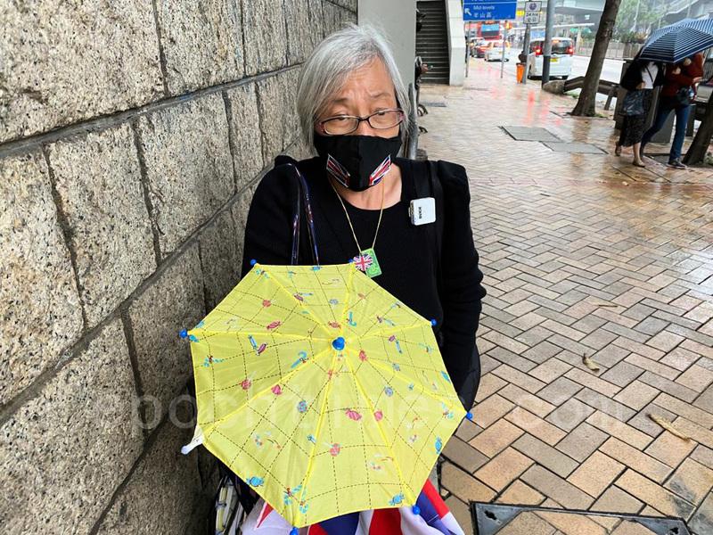 【聲援47】王婆婆:錯信中共「真係盲咗」 港人必會雨過天晴