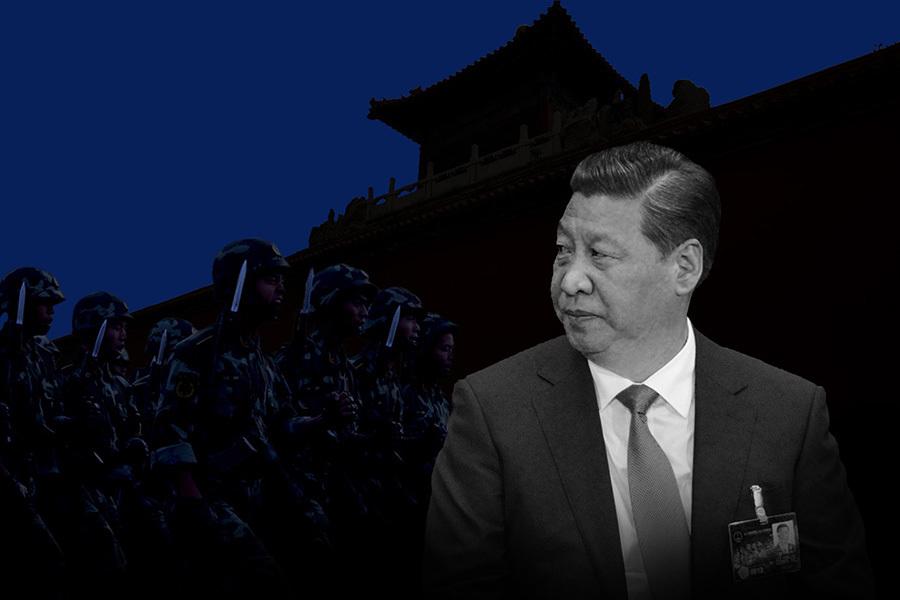 日前,中共官媒以題為「習近平心中的頭等大事」文章說,「保證國家安全是頭等大事」。之前,有陸媒發文提醒當局「防政變」。還有報道說,為防政變發生,北京高層要求中共高官要有擔當的「行為」。(大紀元合成圖)